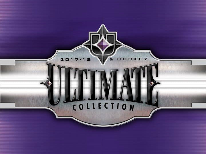 2017-18 Ultimate Collection Hockey Hobby Box