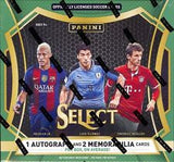 2016 Panini Select Soccer Hobby Box