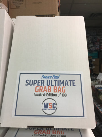 Frozen Pond Super Ultimate Grab Bag Mystery Autograph Jersey Boxes