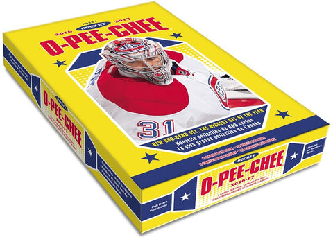 2016-17 O-Pee-Chee Hockey Hobby Box