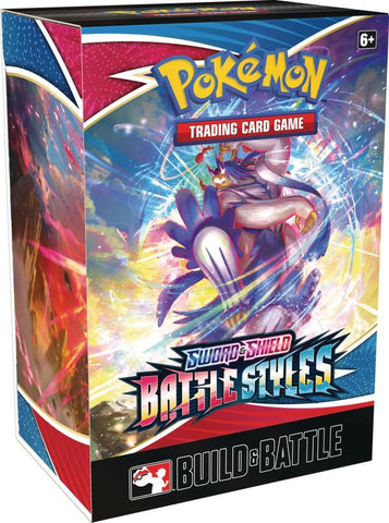 Pokemon Battle Styles Build & Battle Kit Box