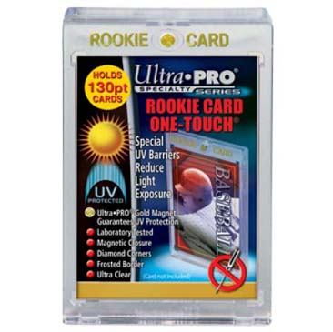 Ultra Pro 1 Touch 130pt Rookie Gold Magnetic Closure
