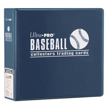 Ultra Pro 3IN Blue Baseball Binder