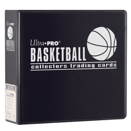 Ultra Pro 3IN Black Basketball Binder