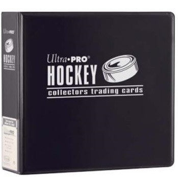 Ultra Pro 3IN Black Hockey Binder