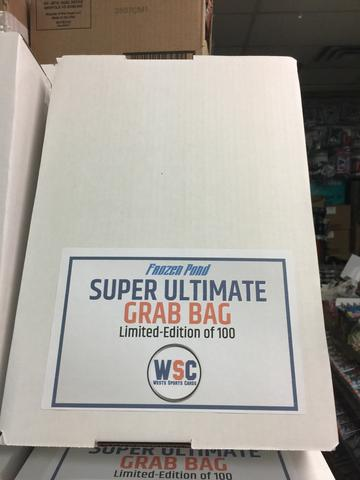 Group Break#804- 1 FROZEN POND ULTIMATE GRAB BAG MYSTERY BOX TEAM RANDOM TRIPLE U4