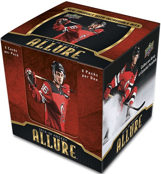 2019-20 Upper Deck Allure Hockey Hobby Box