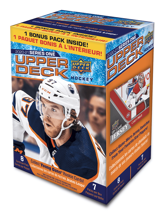 2020-21 Upper Deck Series 1 Hockey Blaster Box