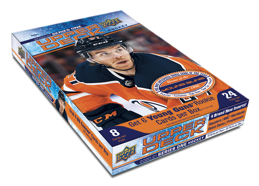 2020-21 Upper Deck Series 1 Hockey Hobby Box