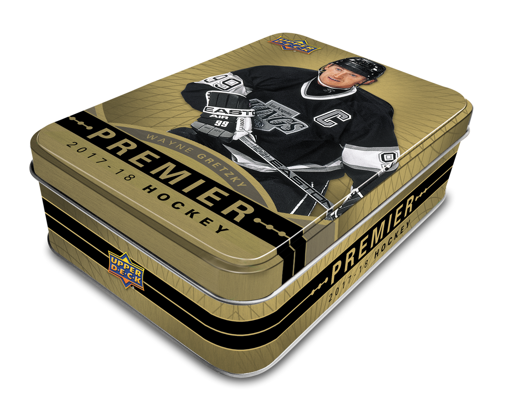 2017-18 UD Premier Collection Hockey Hobby Box/Tin