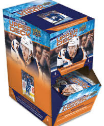 2020-21 Upper Deck Series 1 Hockey Gravity Feed Box