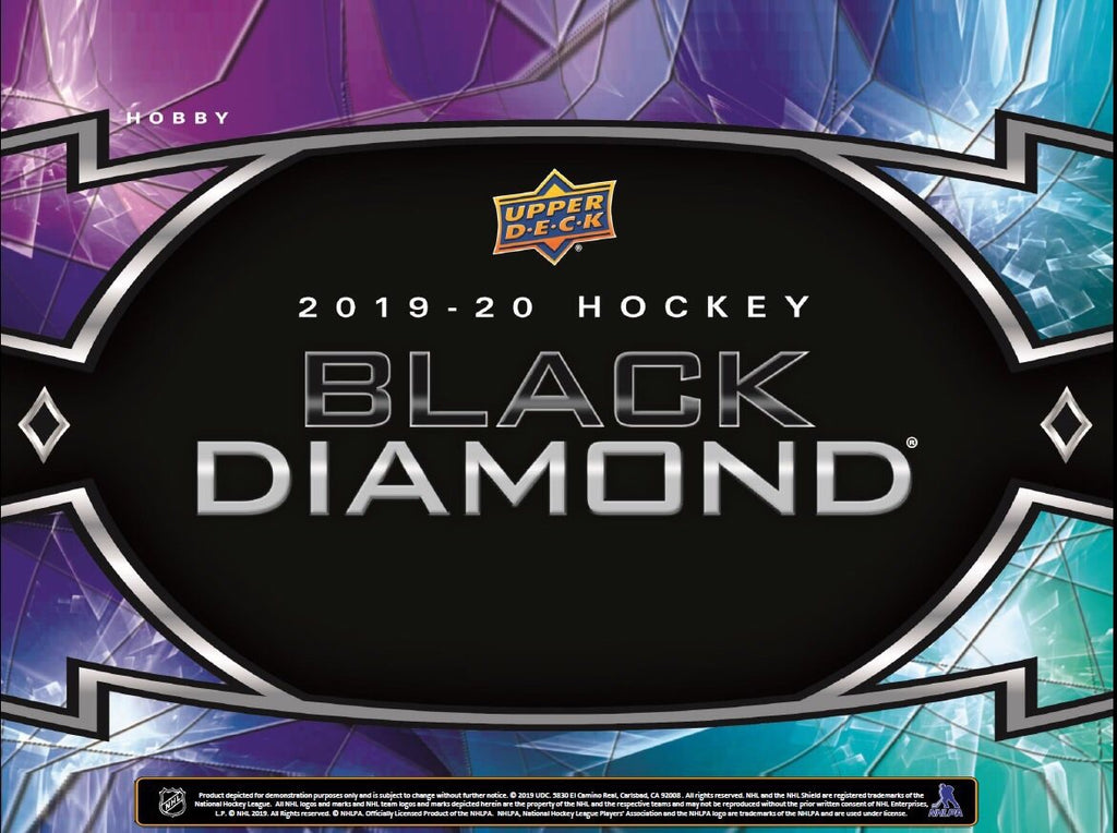 2019-20 BLACK DIAMOND HOCKEY HOBBY BOX