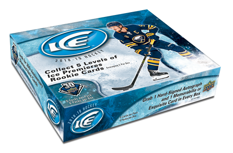 Group Break#885- 1 CASE (10 Boxes) 2018-19 UD ICE PYT+WIN $50 GROUP BREAK CREDIT!