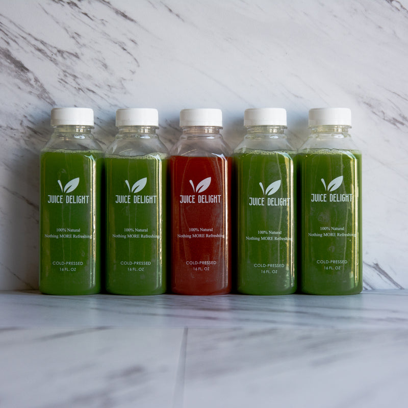 "The Capital - 5 Day Cleanse ""Up for the Challenge"""