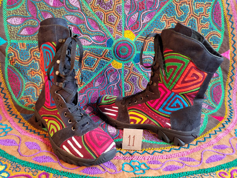 The Journey Rugged Hiker Mola Boot -  Size 11 - Ariah