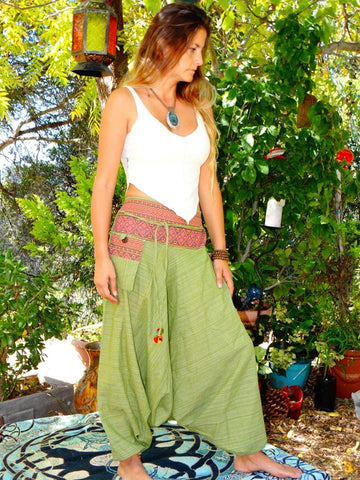 Genie Pants - Apple Green