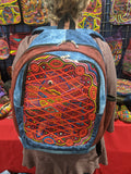 Tribal Textile Vegan Mola Backpack - Pez