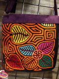 Tribal Textile Vegan Mola Purse - Florencia