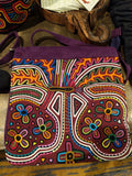 Tribal Textile Vegan Mola Purse - Floriat