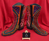 Cowgirl Zipper Mola Boots Size 8 - Moxy