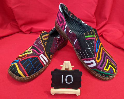 Moccasin Mola Shoes - Size 10 - Lux
