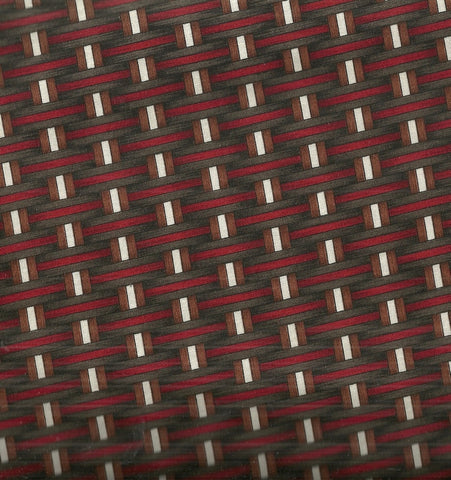 Aint No Bull basket red brown Riverwoods fabric