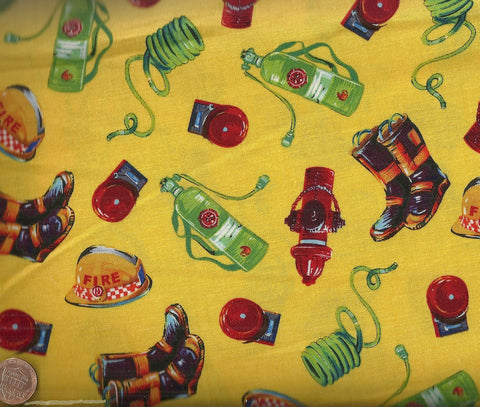 Heavy Metal fire hydrant yellow Blank fabric