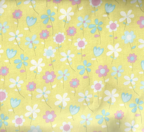 Simply Baby pastel floral Windham fabric