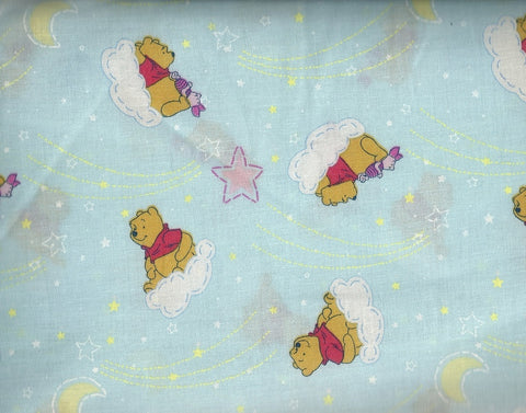 Winnie the Pooh star watching Springs fabric