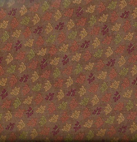 Autumn leaves fall color Backcountry Riley Blake fabric