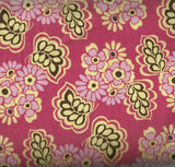 Fiona's Fancy large pink floral flowers Riley Blake fabric
