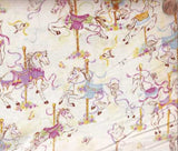 Carousel Dreams cream Wilmington fabric