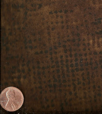 Tic Tac dark brown Andover flannel fabric
