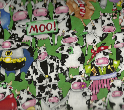 On a Lark 4006 farm animals Elizabeth Studio fabric