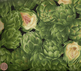 Artichoke Timeless Treasures food kitchen fabric