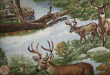 Deer summer wildlife Timeless Treasures fabric