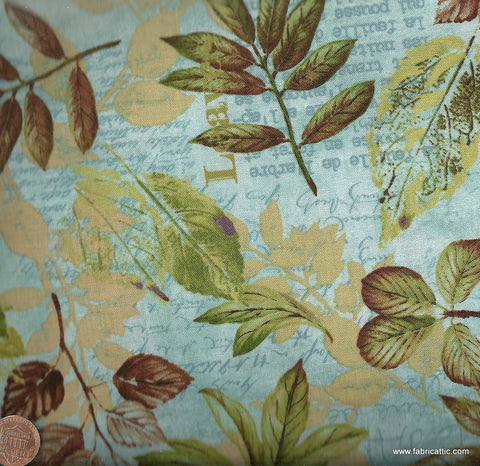 Forest Walk 27791-8 leaves Wilmington fabric