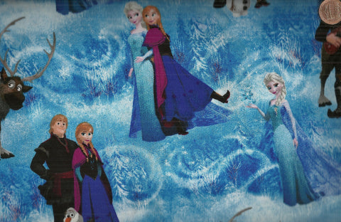 Frozen 51877 blue Spring fabric