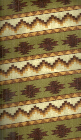 Timber Lodge forest green southwestern stripe Kaufman flannel
