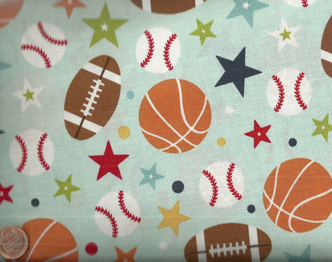 Play Ball Riley Blake fabric