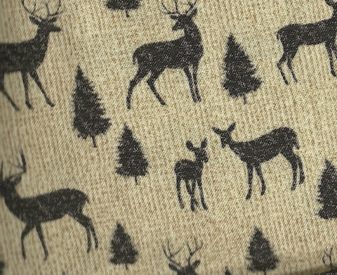 Adirondack Crossing deer tan Benartex wildlife fabric