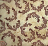 Western Essentials six shooter gun cowboy fabric Blank Quilting