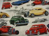 Chopped + Channeled Alexander Henry vintage cars fabric