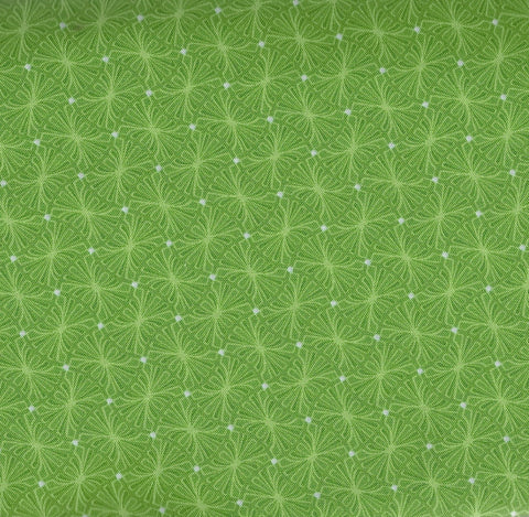 Meadow Dance green Benartex fabric