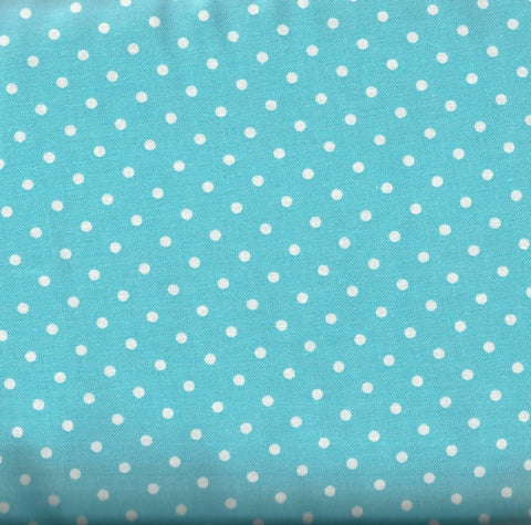 Aqua dots Timeless Treasures fabric