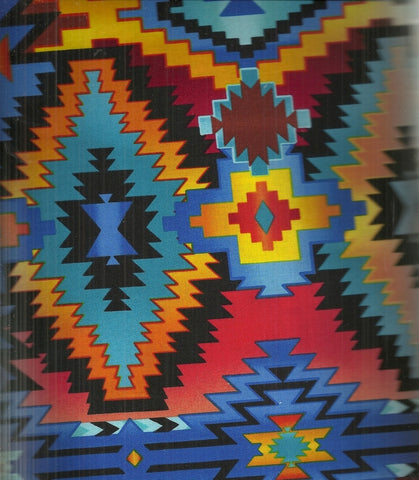 Southwestern Blanket bright Timeless Treasures fabric