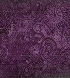Tonga batik jam flourish paisley Timeless Treasures fabric