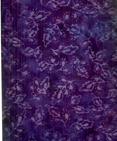 Tonga batik little buds grape Timeless Treasures fabric