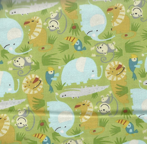 Bungle in the Jungle Amazon In the Wild Free Spirit fabric