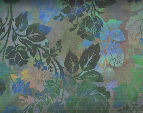 Diaphanous Jason Yenter  flowers ITB fabric